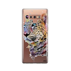 Dripping Leopard -  Samsung Galaxy Note 9 Case Clear