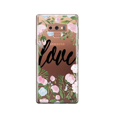 Floral Love - Samsung Clear Case