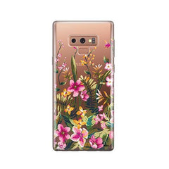 Growing Garden - Samsung Galaxy Note 9 Case Clear