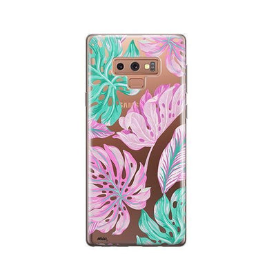 Hawaiian Garden - Samsung Clear Case