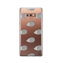 Hedgehog -  Samsung Galaxy Note 9 Case Clear