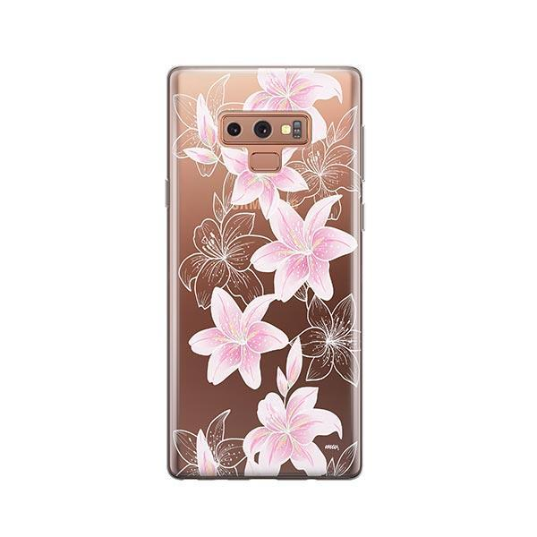 Lily Beth - Samsung Galaxy Note 9 Case Clear