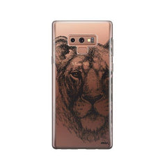 Lioness -  Samsung Galaxy Note 9 Case Clear