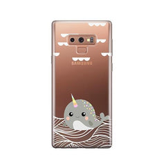 Narwhal -  Samsung Galaxy Note 9 Case Clear