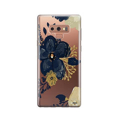 Oprah Floral - Samsung Galaxy Note 9 Case Clear
