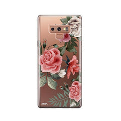 Petals - Samsung Galaxy Note 9 Case Clear