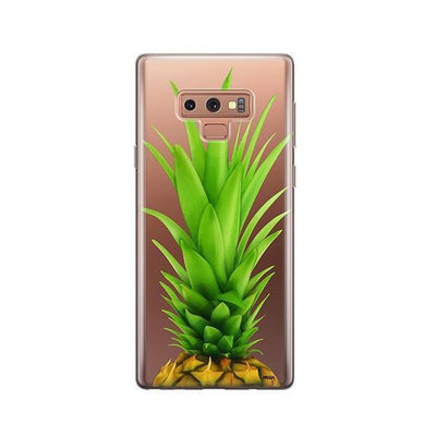Pineapple Head - Samsung Clear Case