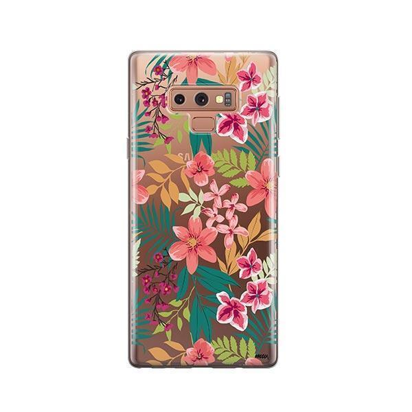 Summer Blossom - Samsung Galaxy Note 9 Case Clear