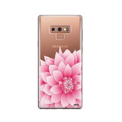 The Dahlia - Samsung Galaxy Note 9 Case Clear