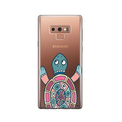 Turtle -  Samsung Galaxy Note 9 Case Clear