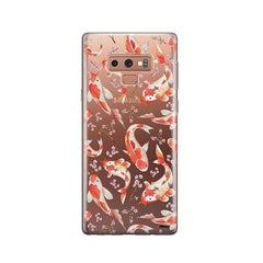 Watercolor Koi Fish -  Samsung Galaxy Note 9 Case Clear