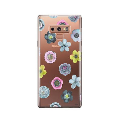 Watercolor Succulent - Samsung Clear Case