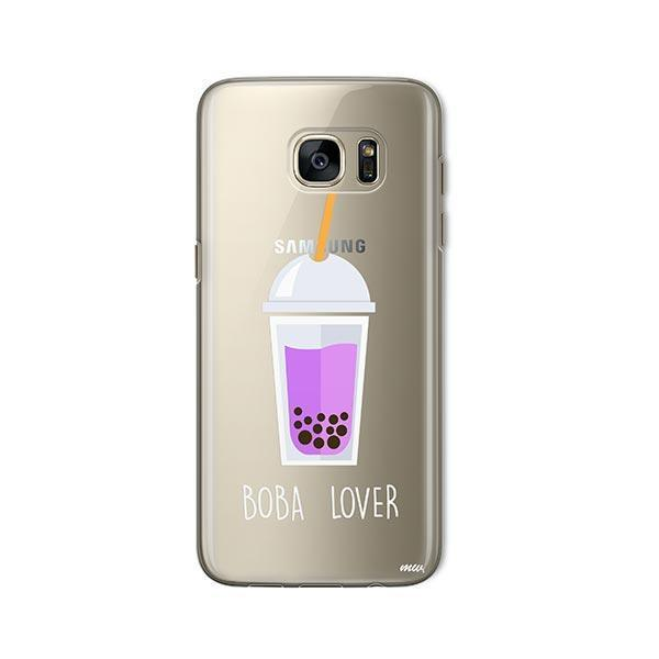 Boba Lover - Samsung Galaxy S7 Case Clear