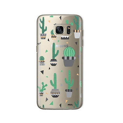 Cactus Party - Samsung Clear Case