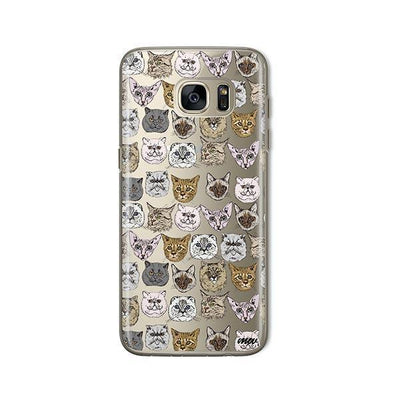 Cat Overload 2 - Samsung Clear Case