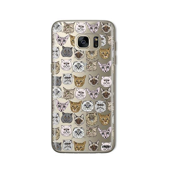 Cat Overload 2 -  Samsung Galaxy S7  Clear Case