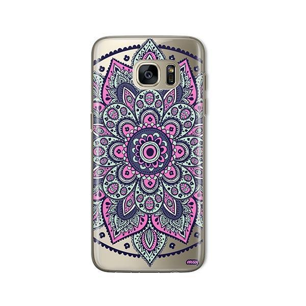 Dakota Mandala - Samsung Galaxy S7 Case Clear