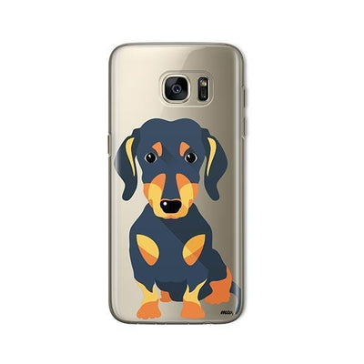 Doxie - Samsung Clear Case