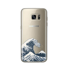 Japanese Wave - Samsung Galaxy S7 Case Clear