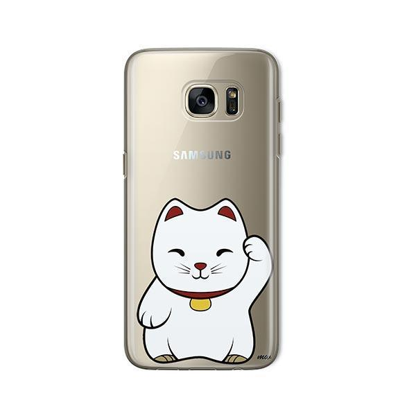 Lucky Cat -  Samsung Galaxy S7  Clear Case