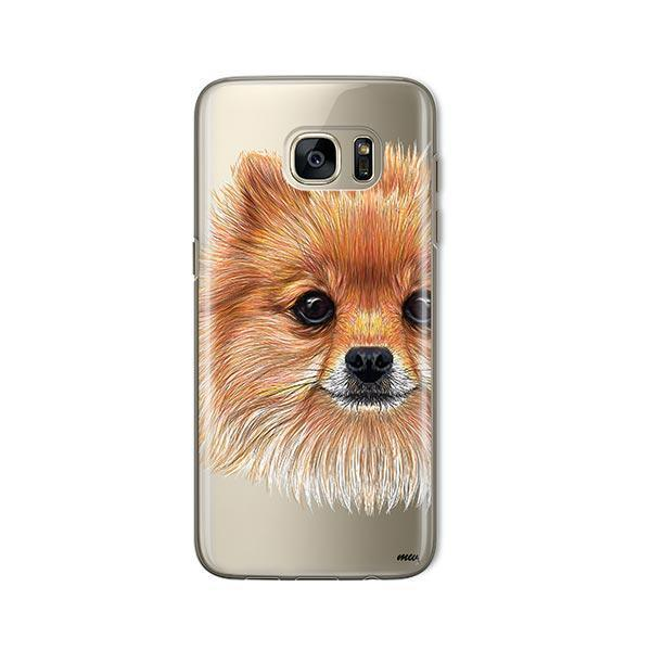 Pomsky Puppy -  Samsung Galaxy S7  Clear Case