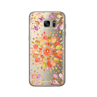 Summer Mandala - Samsung Clear Case