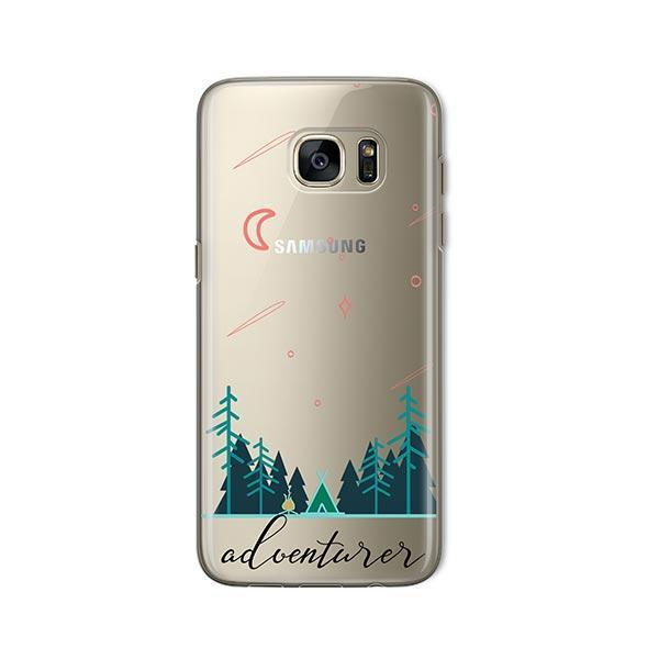Adventurer - Samsung Galaxy S7 Case Clear