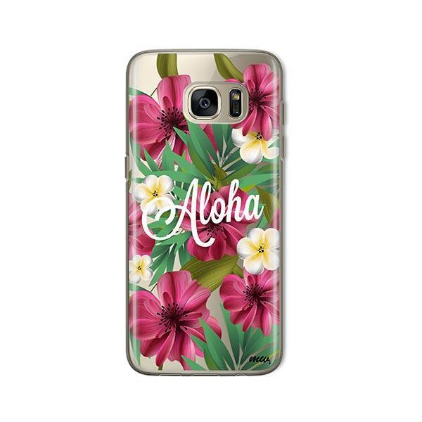 Aloha 2.0 - Samsung Galaxy S7 Case Clear