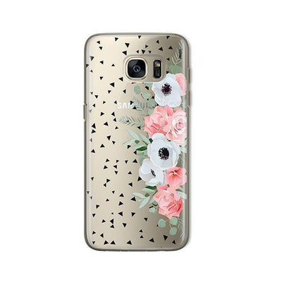 Anemone Rose - Samsung Clear Case