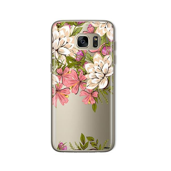 Angela Floral - Samsung Galaxy S7 Case Clear