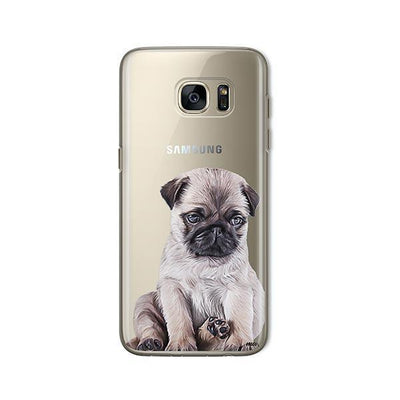 Baby Pug - Samsung Clear Case