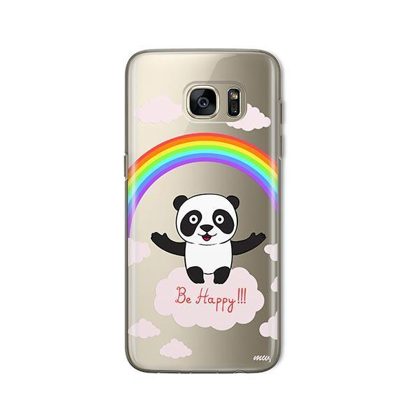 Be Happy - Samsung Galaxy S7 Case Clear