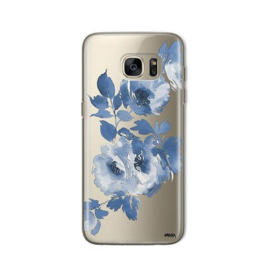 Blue Crush - Samsung Clear Case
