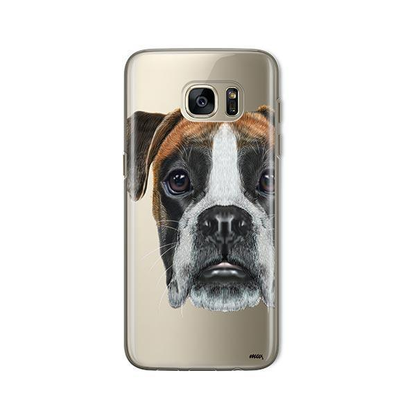 Boxer -  Samsung Galaxy S7  Clear Case