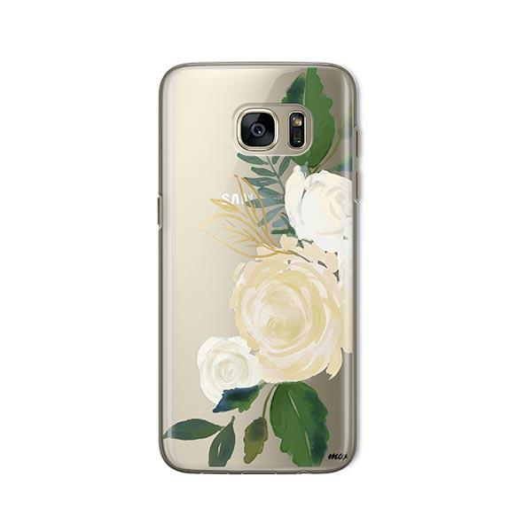 Caroline - Samsung Galaxy S7 Case Clear