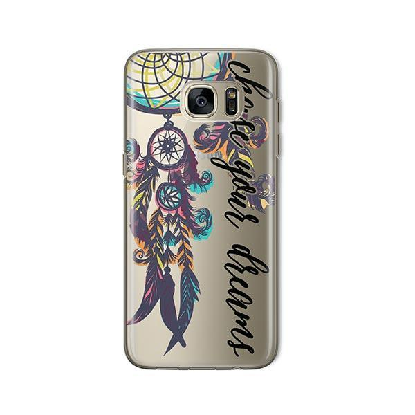 Chase Your Dreams - Samsung Galaxy S7 Case Clear