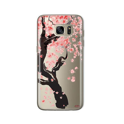 Cherry Blossom Tree - Samsung Clear Case