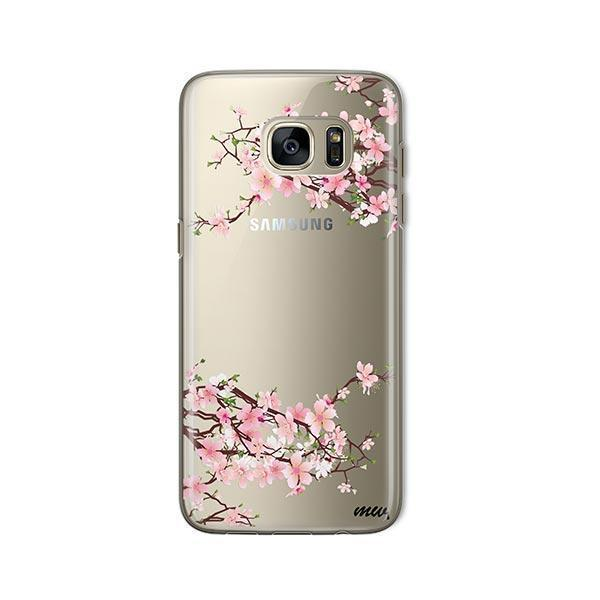 Cherry Blossom - Samsung Galaxy S7 Case Clear
