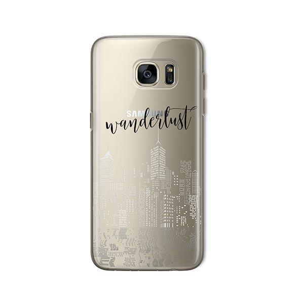 City Wanderlust - Samsung Galaxy S7 Case Clear