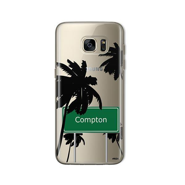 Compton - Samsung Galaxy S7 Case Clear