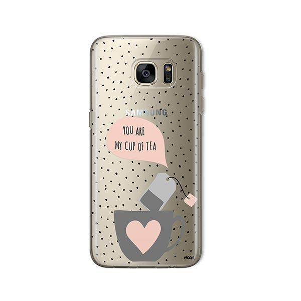 Cup of Tea - Samsung Galaxy S7 Case Clear