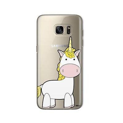 Cute Unicorn - Samsung Clear Case