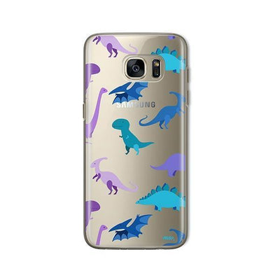 Dino Time - Samsung Clear Case