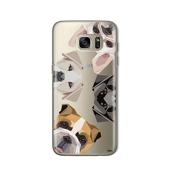 Dogs with Attitude -  Samsung Galaxy S7  Clear Case