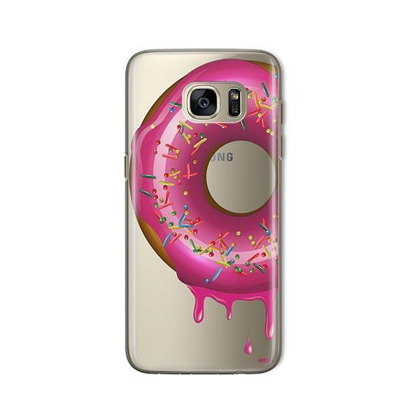 Dripping Donut - Samsung Galaxy S7 Case Clear