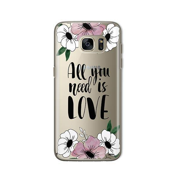 All You Need is Love - Samsung Galaxy S7 Case Clear