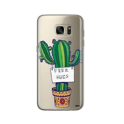 Free Hugs - Samsung Clear Case