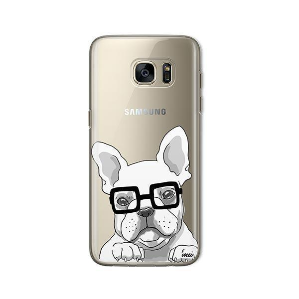 The Frenchie -  Samsung Galaxy S7  Clear Case