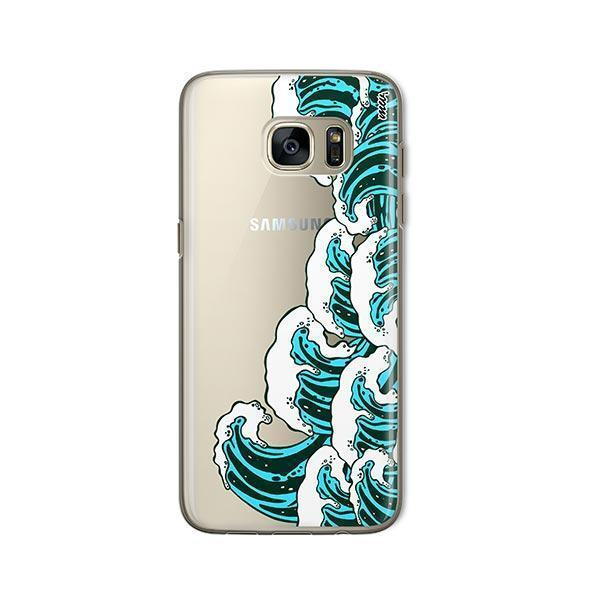 Full Great Wave Kanagawa - Samsung Galaxy S7 Case Clear