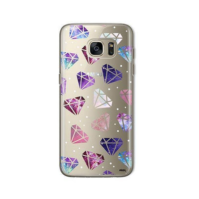 Galatic Diamonds - Samsung Clear Case